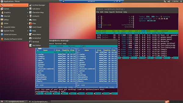 كيفية إعداد اتصال سطح المكتب البعيد عن طريق Gnome-Rdp في انظمة لينكس !