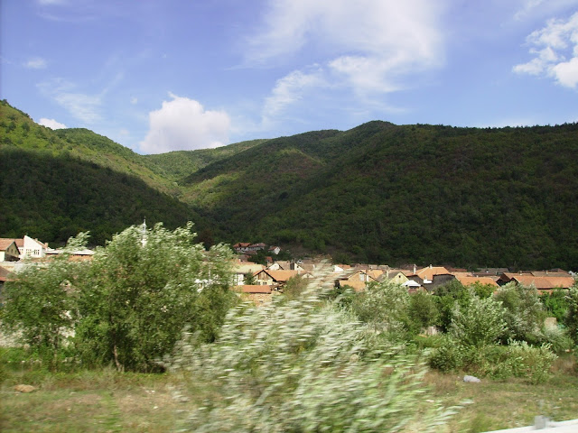 "Toplet. Valea Cernei. Village ""Toplet"" on the Cerna Valley."