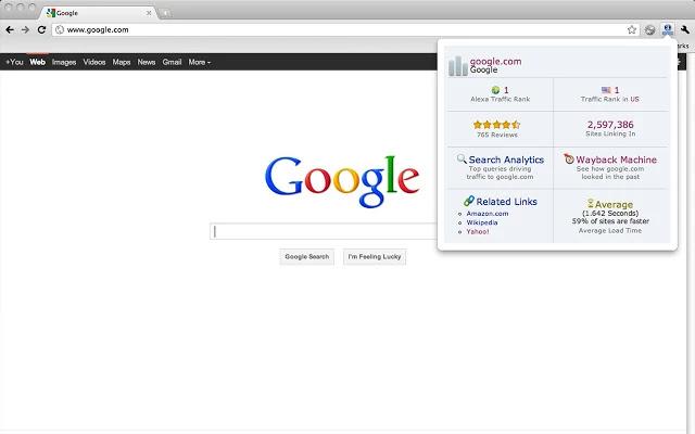 تحميل اضافة فحص ترتيب اليكسا لجوجل كروم Alexa Traffic Rank