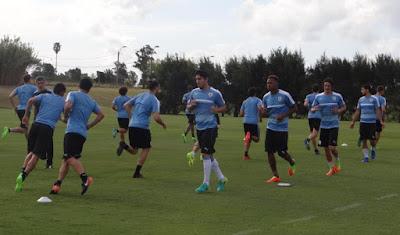 Uruguay selección celeste Tabárez