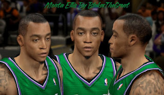 NBA 2K13 Cyber Face Monta Ellis