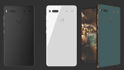Andy Rubin, Essential smartphone, 360 degree camera, bokeh camera, premium smartphone, Andy Rubin smartphone