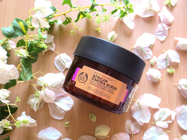 The Body Shop Spa of the World African Ximenia Body Scrub