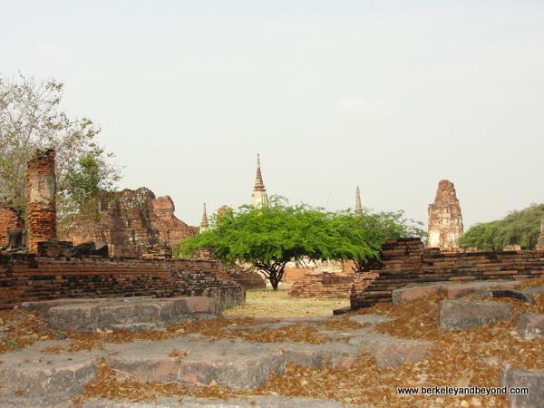 Wat Phra Mahathat at Ayutthaya Historical Park in Thailand