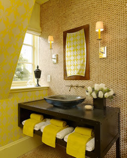 Yellow Color Decorating