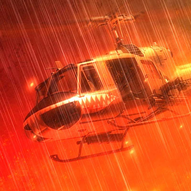 Vietnam War Helicopter Wallpaper Engine