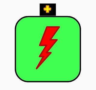 Logo baterai