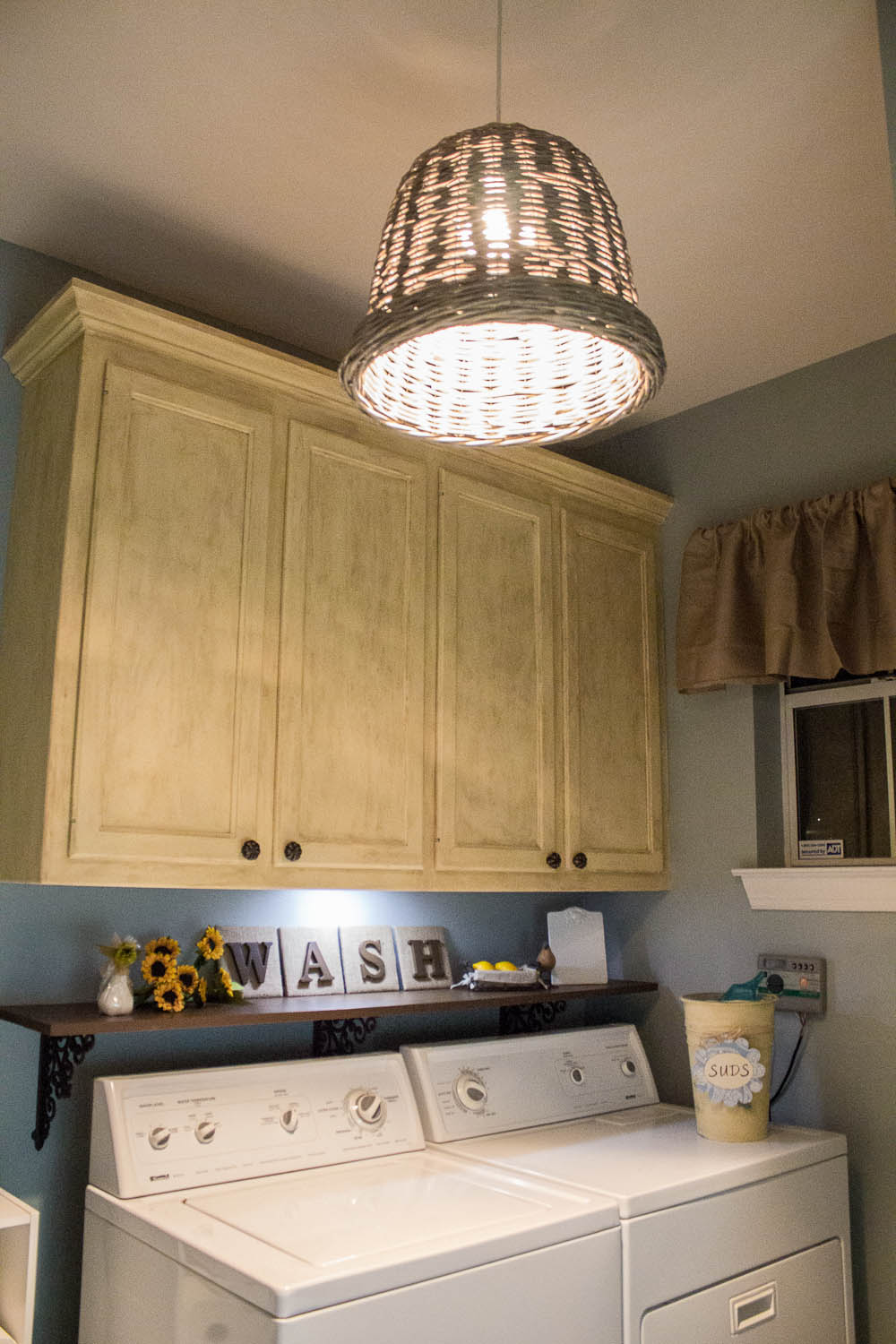 O is for Organize Laundry Room Reveal