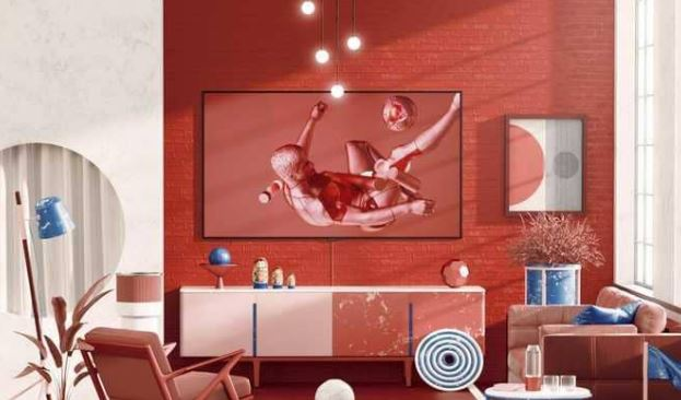 التلفزيون السحري من سامسونغ Samsung (الشاشة الحرباء)