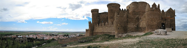 Castillo de Belmonte, panorámica