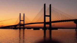 Ponte que faz divisa entre Brasilândia (MS) e Pauliceia (SP)