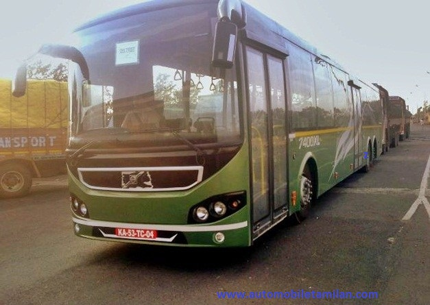 asia first 14.5m bus
