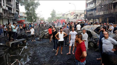 Suicide Attack In Baghdad 83 Killed