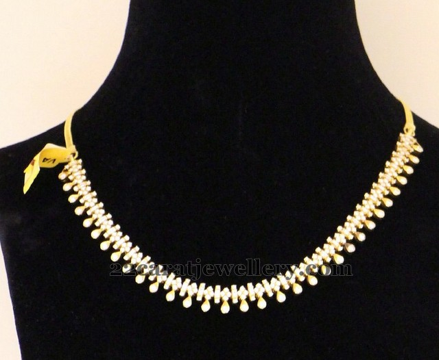 Diamond Choker For All Ages Jewellery Designs