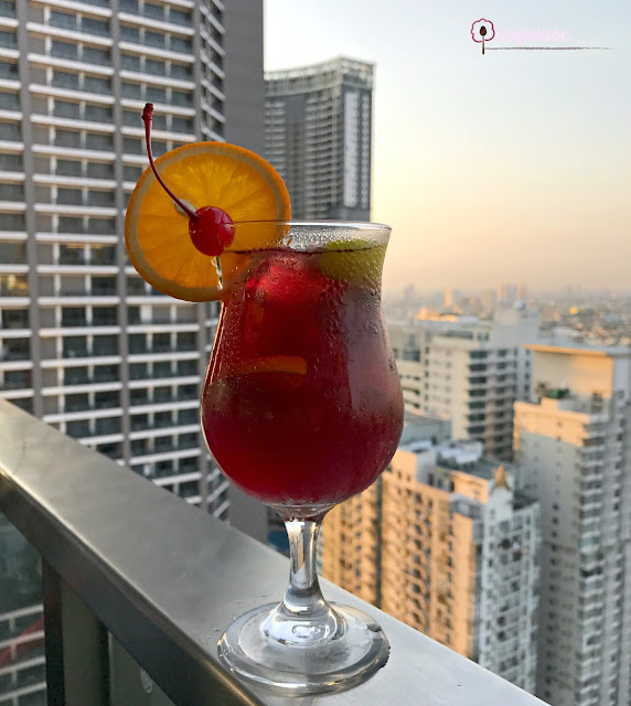 Sangria from Firefly Roofdeck Bar