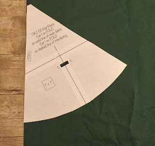 58e243c606956 Center the interfacing on top of the wrong side of the fabric. Pin in  place