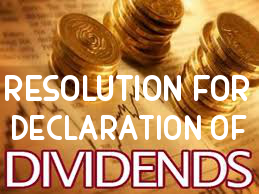 Resolution-for-Declaration-Dividend