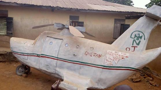 made in nigeria helicopter