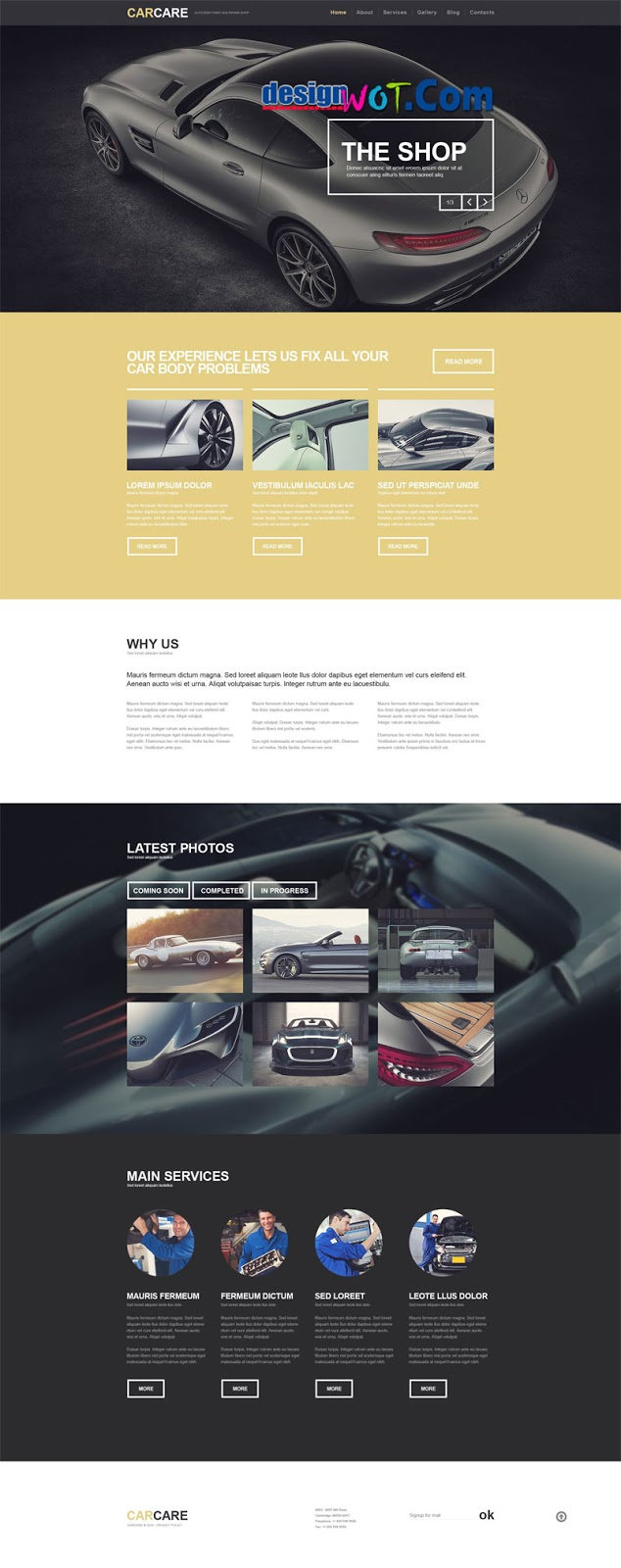 Car CARE Premium WordPress Themes