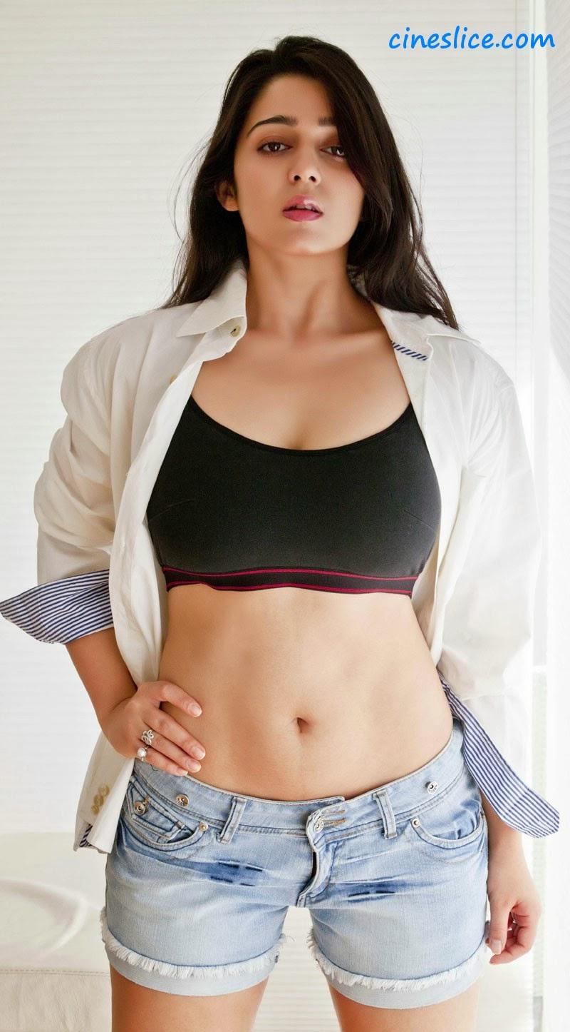 Charmi Latest Hot Navel Show Photoshoot Stills - Hot Blog -5049