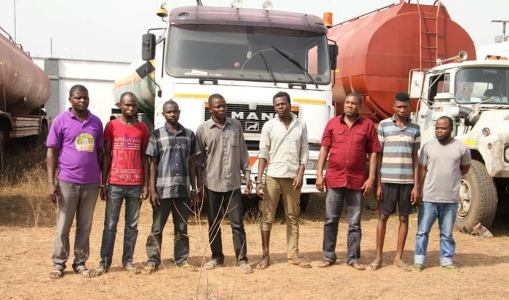 Police parade suspected vandals in Abuja (photos)