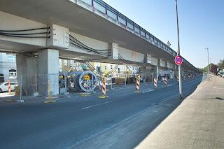 Bauarbeiten Südschnellweg, Termine mit Sperrungen