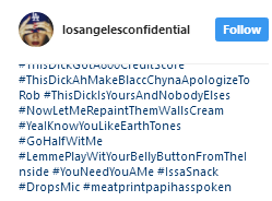 """""""This d**k can make Blac Chyna apologize to Rob,"""" - brags Rapper The Game as he shares +18 photo on IG"""