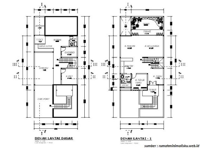 Kumpulan Denah Rumah Dua Lantai, Cocok untuk Referensi Renovasi!