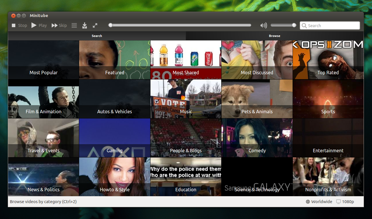 Minitube 2.0 And Musique 1.2.1 Released, Available In Our ...