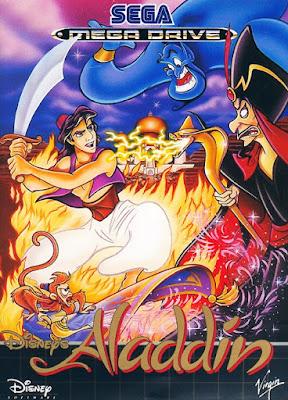 Rom de Aladdin - Mega Drive em PT-BR