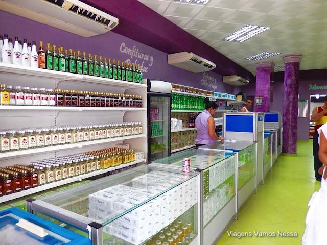 Loja em Havana da empresa estatal Habanaguex