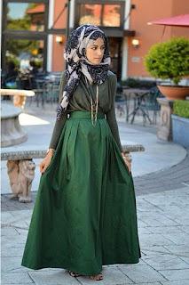 Tren Busana Muslim Dress Feminim