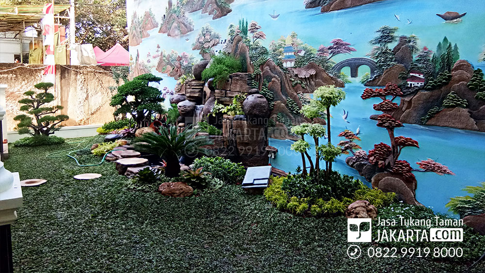 Jasa Taman Relif Jakarta