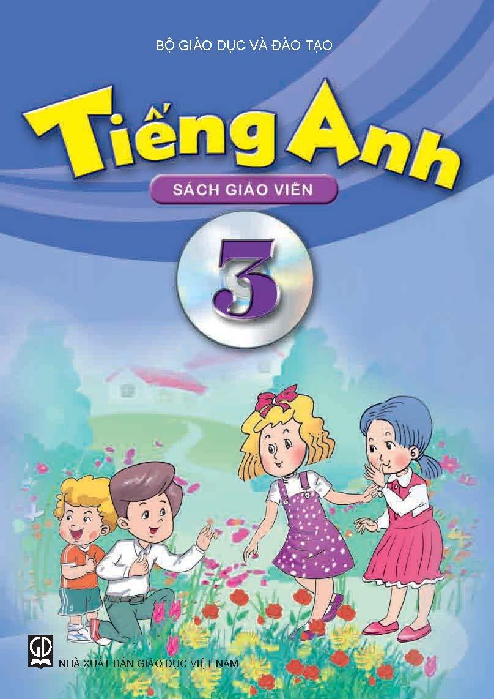 Trang bìa trong Nội dung sách tiếng Anh lớp 3