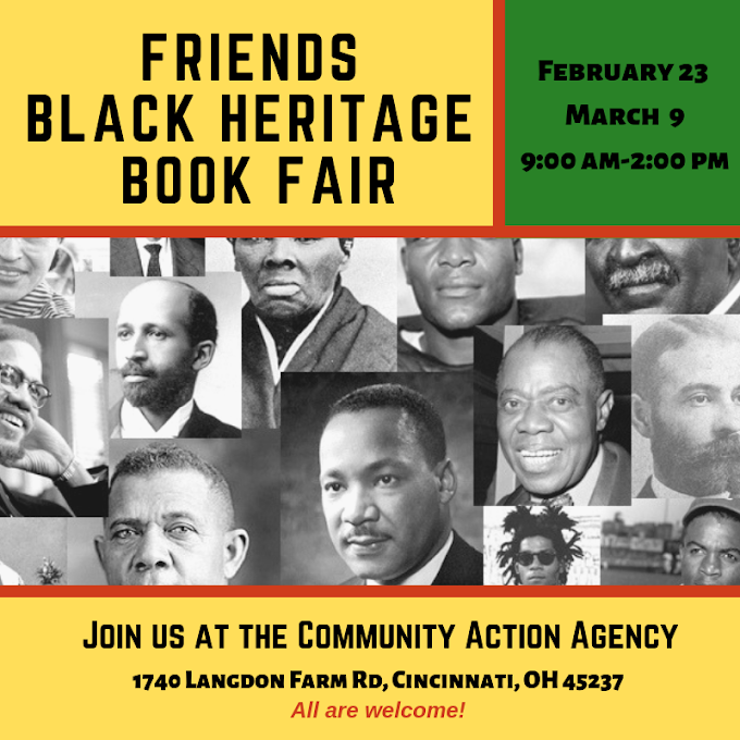 The Friends Black History Book Fair (February and March 2019)