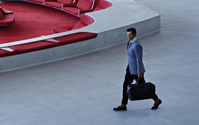 Photo of Adam Scott in Rolex Sky-Dweller Ad