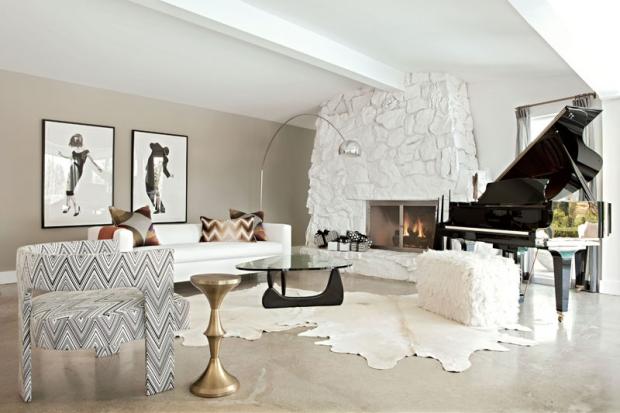 Decoraci N Interior De Salas En Color Blanco Ideas Para Decorar Dise Ar Y Mejorar Tu Casa