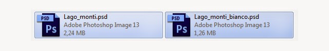 Riduzione delle dimensioni di un file psd senza perdita di qualità