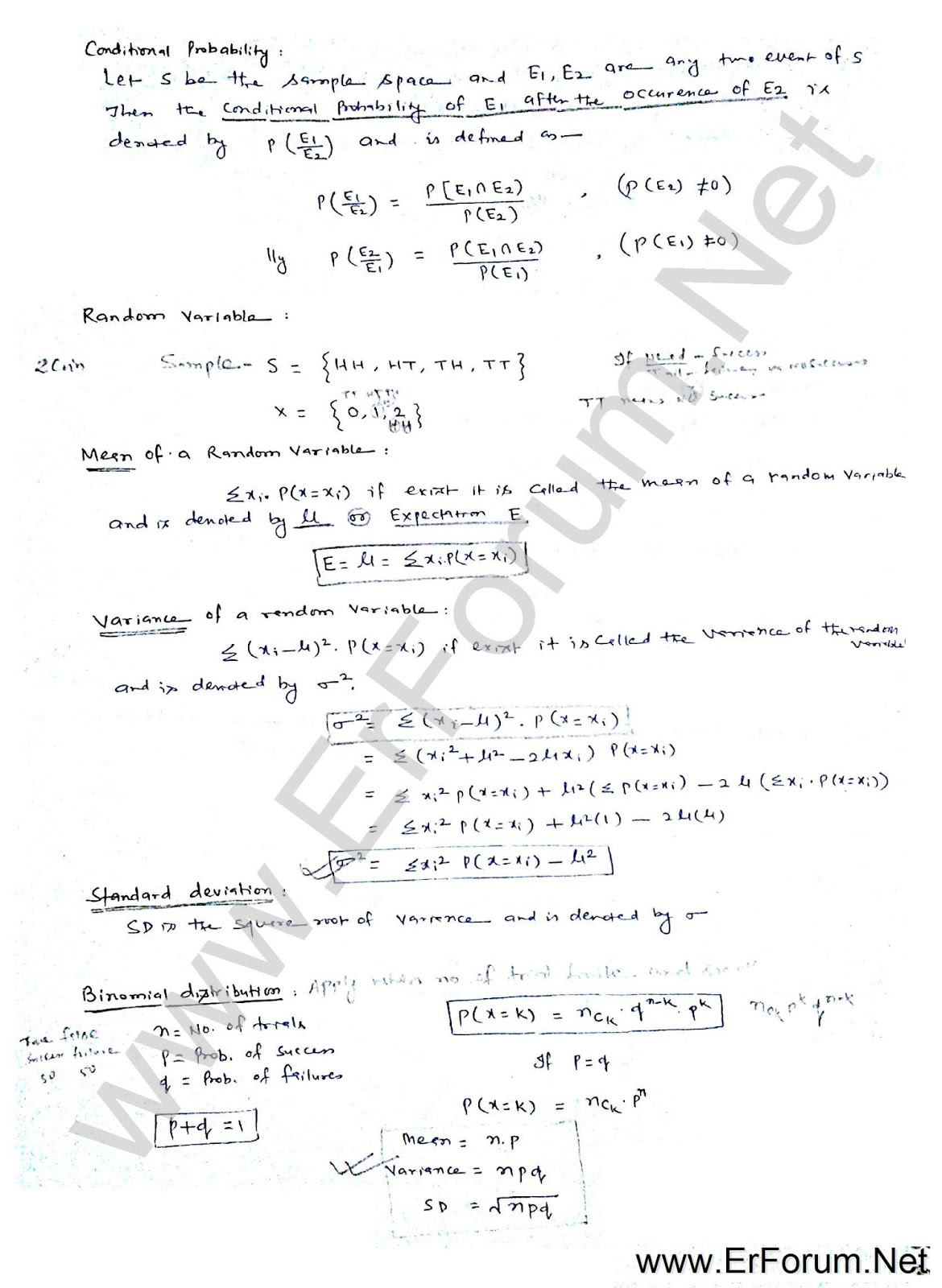 Probability & Statistics for GATE Exams - Engineers Forum