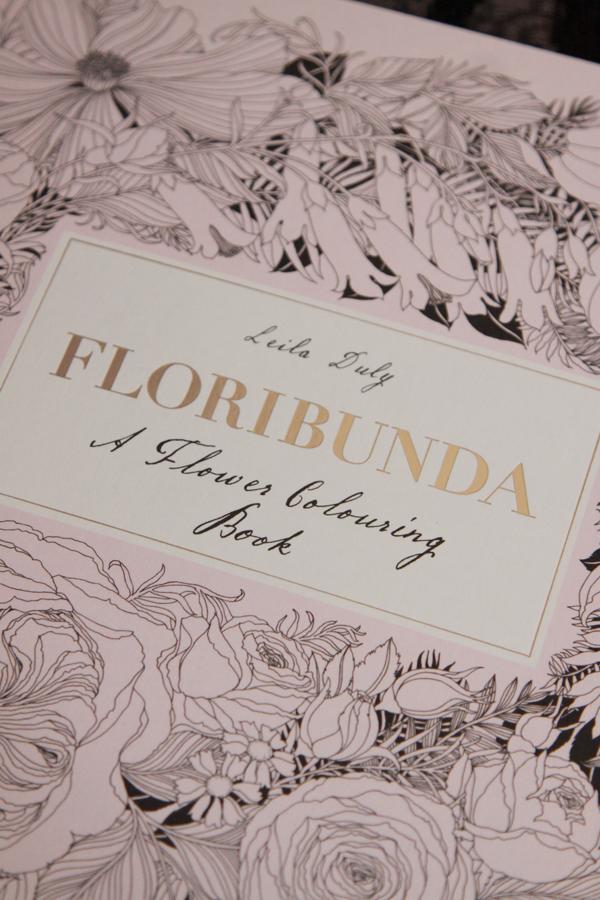 Kitty Rambles A Lot Adult Colouring Books Floribunda By Leila Duly