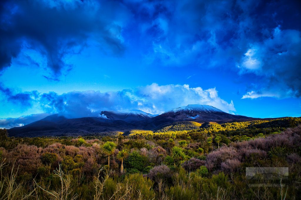 Te Maari Crater Mount Tongariro New Zealand