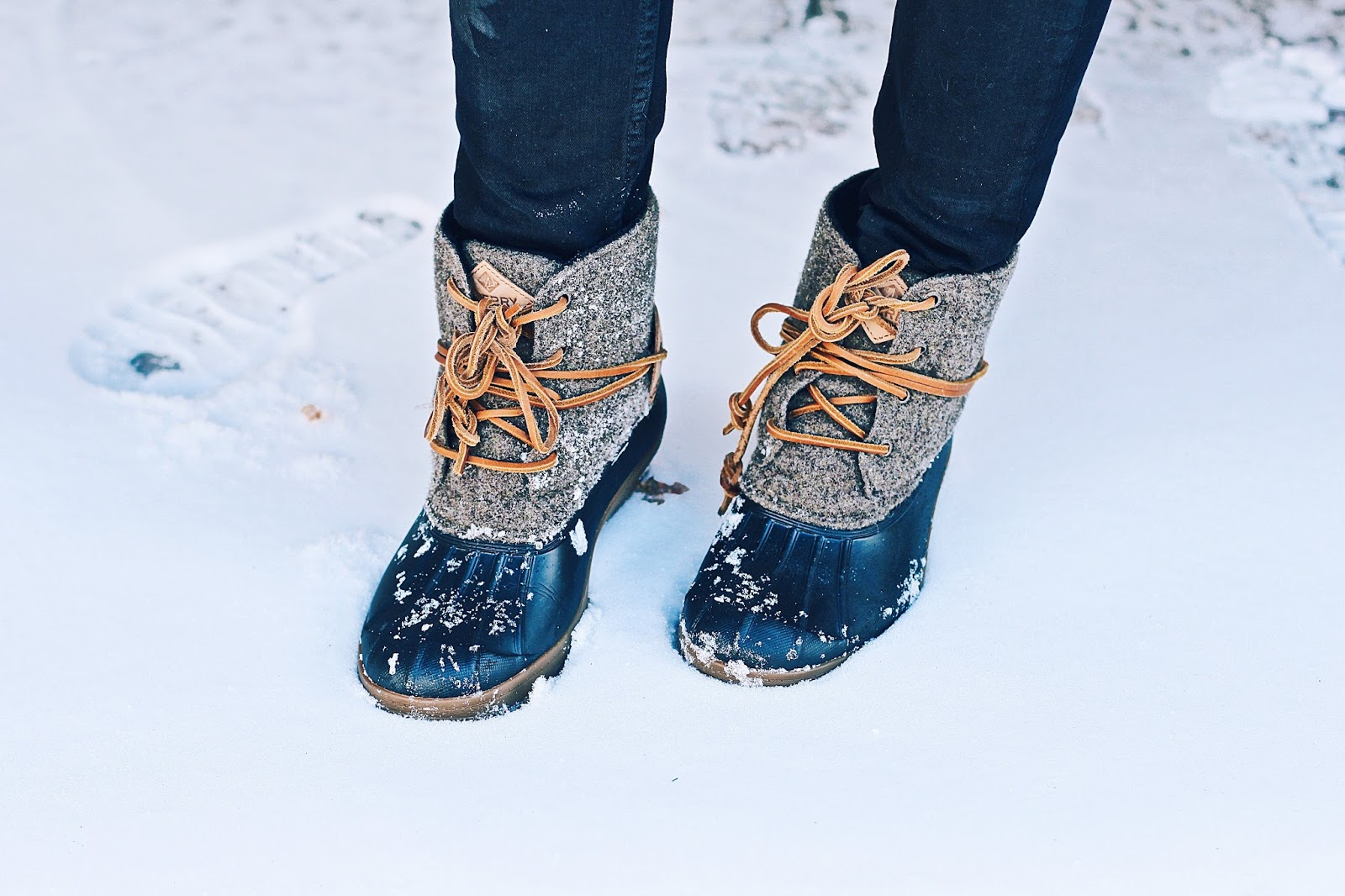 botas de nieve sperry