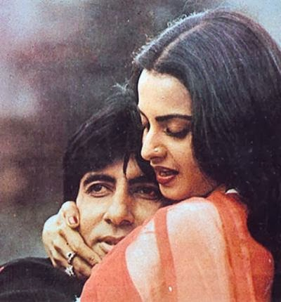Share your Rekha amitabh sex would