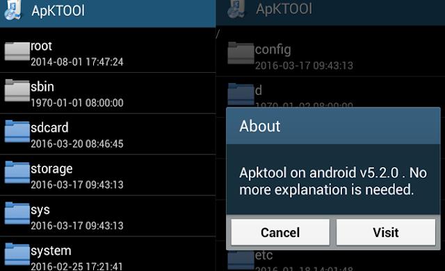 Cara Recompile Dan Recompile Apk Android Menggunakan Apktool Langsung DI Hp Android