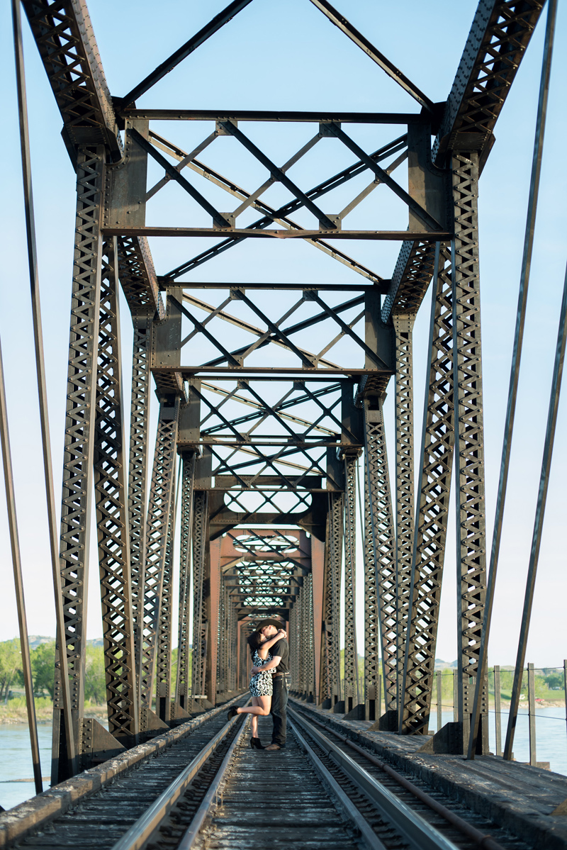 E-session, Montana, Whitney Bird Photography, Cowgirl, Bridge