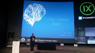 RootedCon 2018 - Jesús Seijas - Fooling Computer Vision