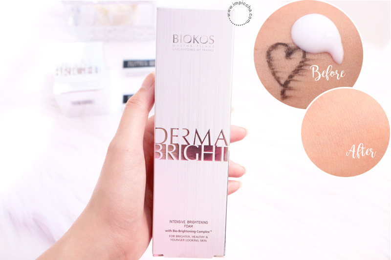 Biokos Derma Bright Intensive Brightening Foam