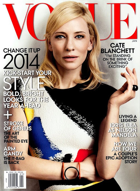 Cate Blanchett For Vogue US January 2014