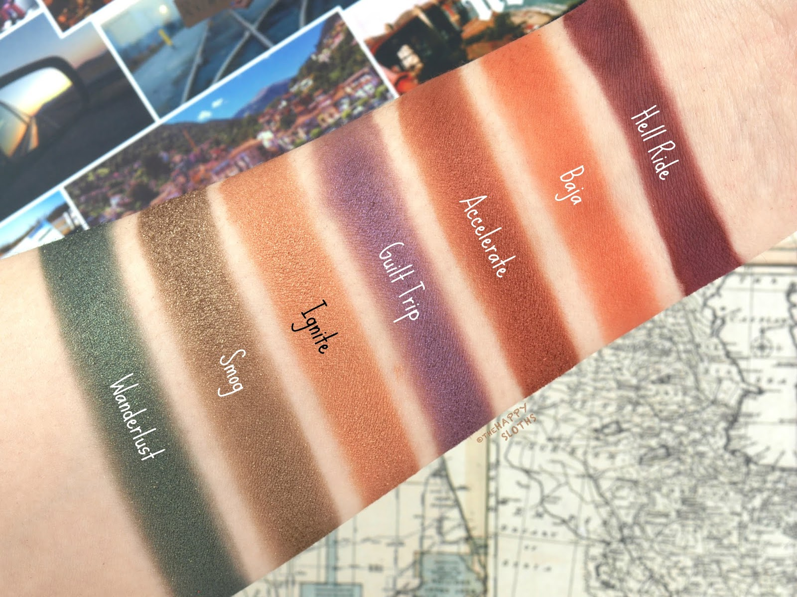 Urban Decay | Born to Run Palette: Review and Swatches