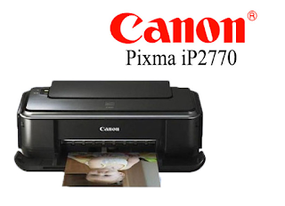 Drivers da Impressora Canon PIXMA IP2770 -
